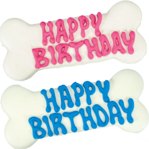 Happy Birthday Dog Bone
