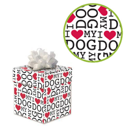 Pet Friendly Gift Wrap | I Love My Dog