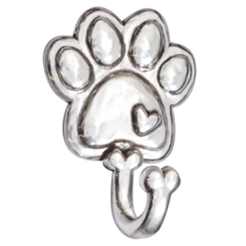 Pewter Paw Leash Hook