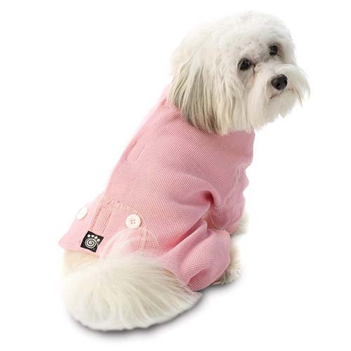 Thermal Dog Pajamas | Pink