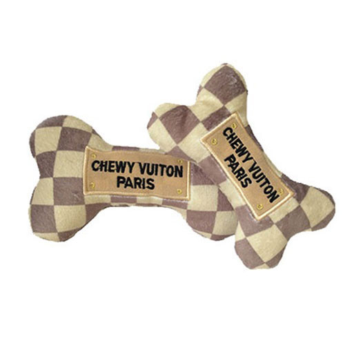 Chewy Checker Dog Bone