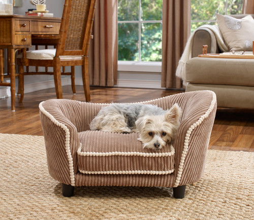 Snuggle Bed Teddy Corduroy | Mocha