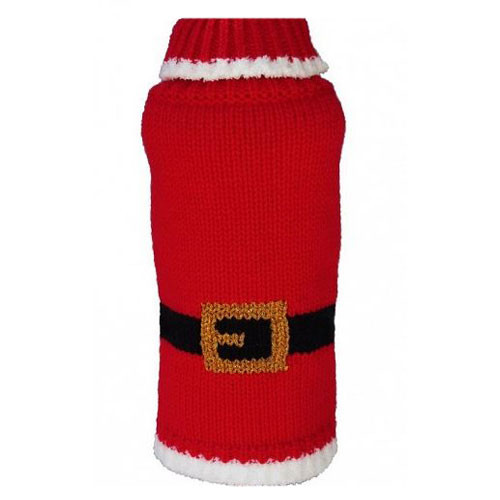 Holiday Sweater   Santa Dog