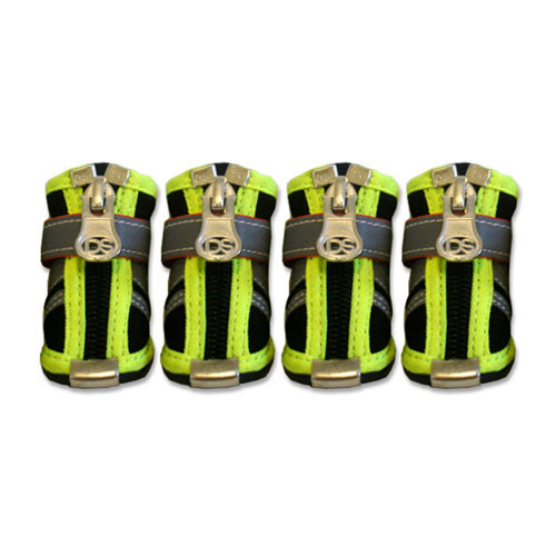 Reflector Dog Boots | Black