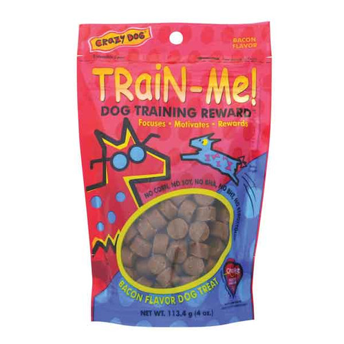 Train Me Dog Reward Treats | Bacon