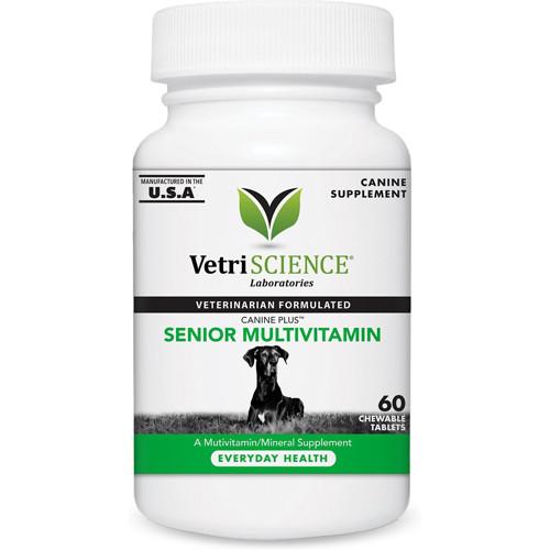 Canine Plus Senior Multivitamin Tablet by VetriScience
