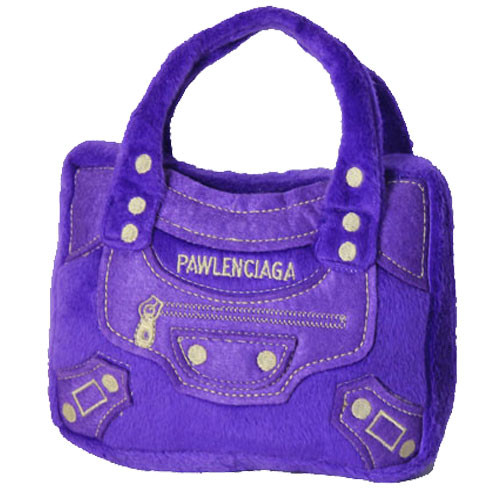 Purse Dog Toy | Pawlenciaga