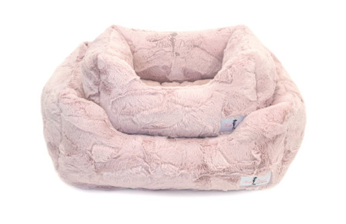 Lux Dog Bed | Blush