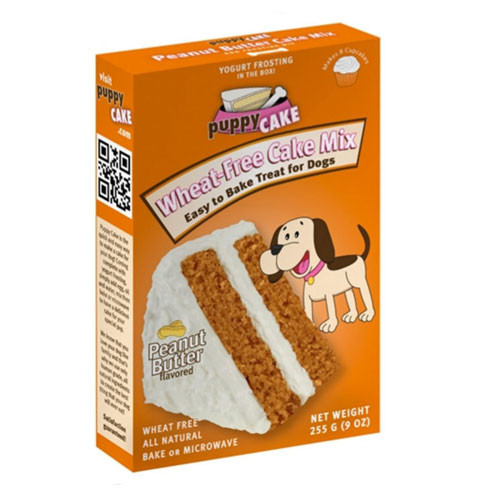 Puppy Cake Peanut Butter Cake Mix & Frosting