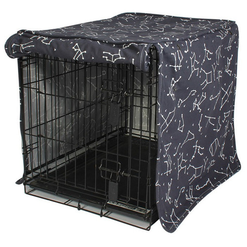 Rocketman Dog Crate Cover | 4 Sizes
