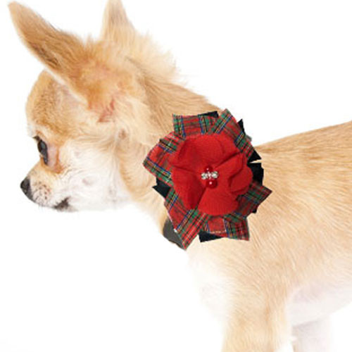 Pinwheel Collar Bud | Plaid