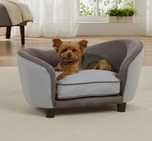 Ultra Plush Snuggle Bed | Grey 2 Tone