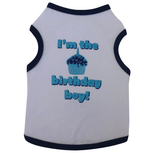 I'm the Birthday Boy Dog Tank Top