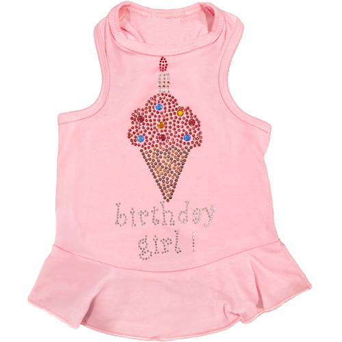 Birthday Girl Ice Cream Cone Dress