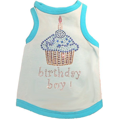 Birthday Boy Cupcake Tank Top