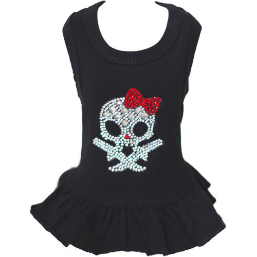 Tank Top Dress | Skull & Red Bow