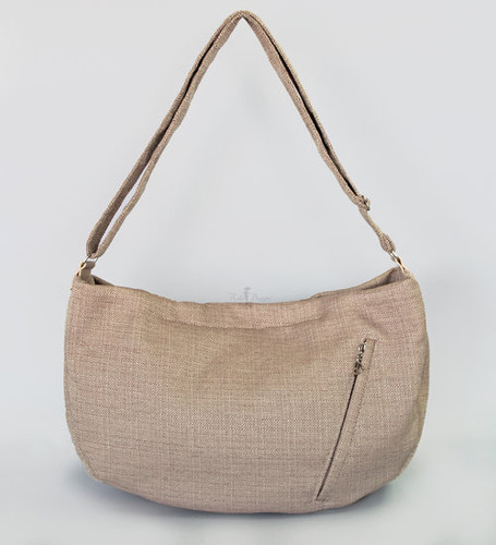 Vienna Luxury Messenger Sling | Latte