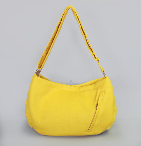 Vienna Luxury Messenger Sling | Lemon