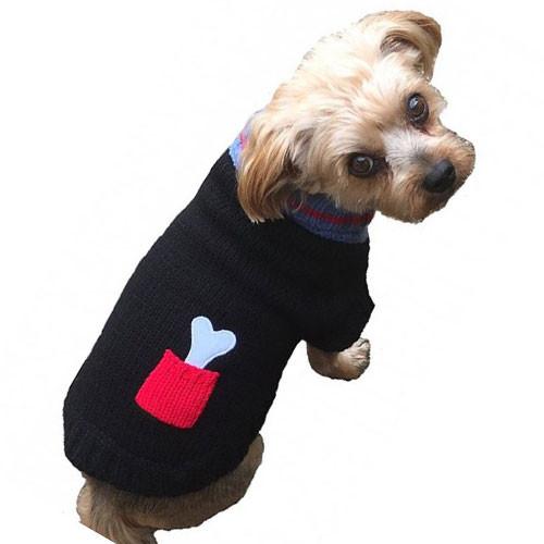Bone on Board Dog Sweater