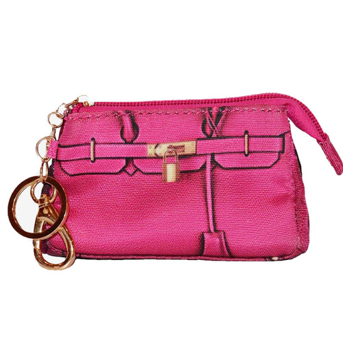 Miles Poop Pick Up Pouch   Pink