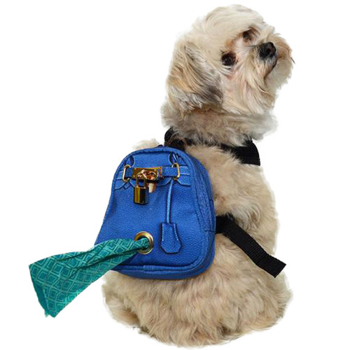 Mandy Doggy Backpack | Cobalt