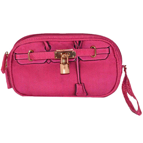 Scarlet Poop Pick Up Wristlet | Pink