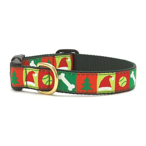 Christmas List Dog Collar