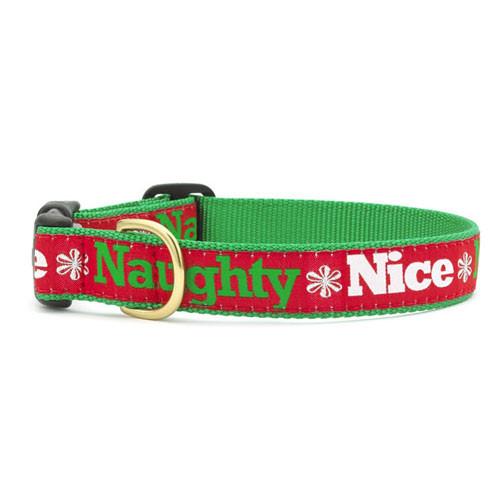 Naughty & Nice Dog Collar