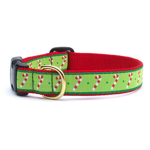Candy Cane Dog Collar