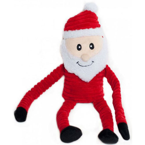 Holiday Crinkle Toy | Santa