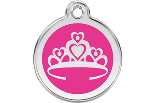 Enamel Crown ID Tag