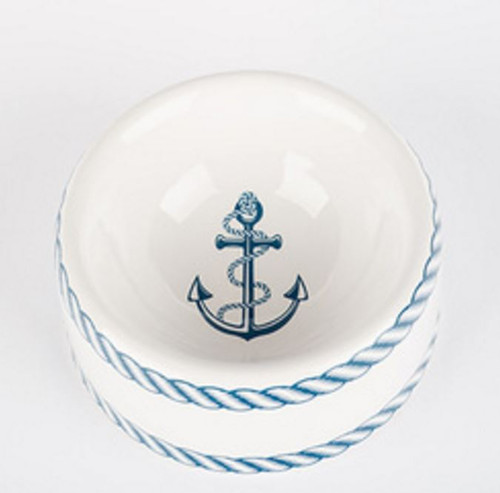 Nautical Dog Bowl