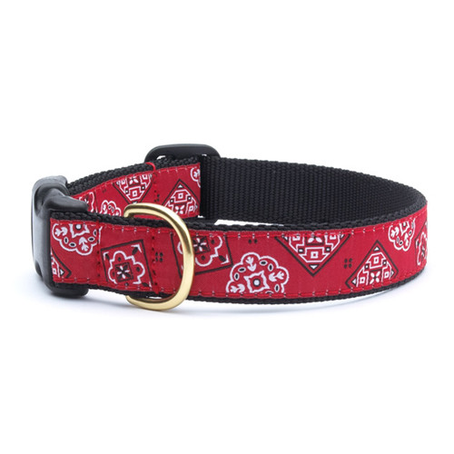 Bandana Red Dog Collar