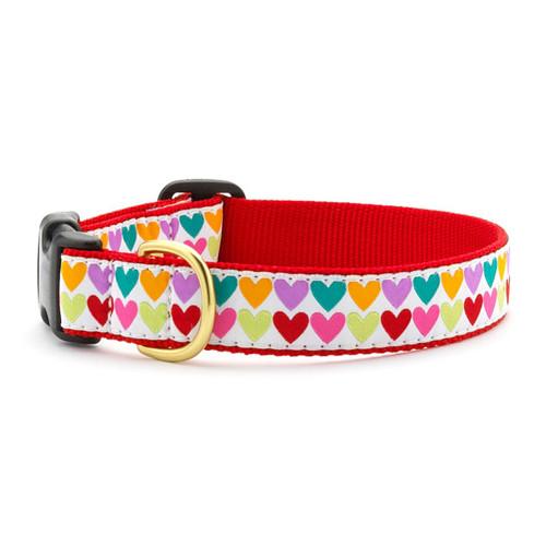 Pop Hearts Dog Collar