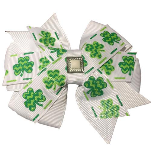 Pinwheel Collar Bud | Shamrock