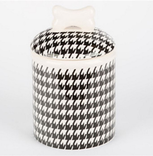Houndstooth Treat Jar