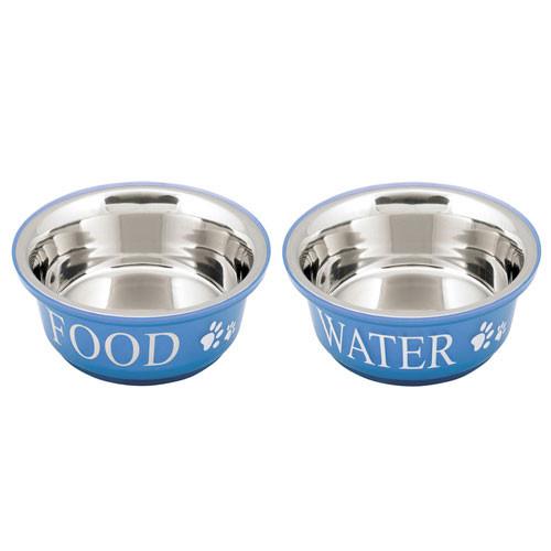 Food & Water Bowls | Blue