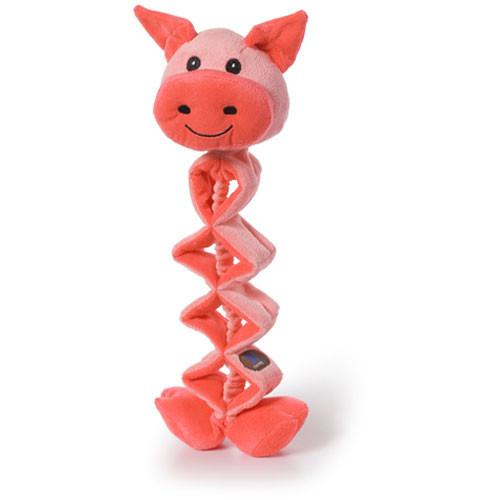 Zig Zaggers Dog Toy | Pig