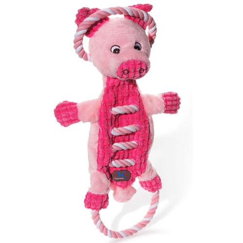 Ropes A-Go-Go Dog Toy | Pig