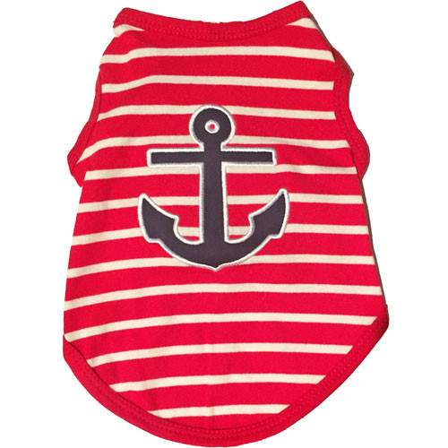 Anchor Dog Tank Top