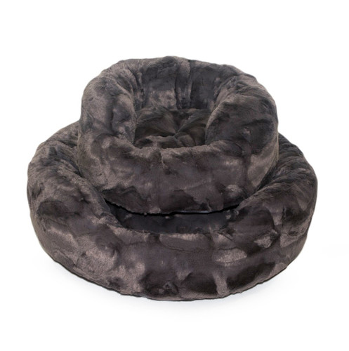 Amour Dog Bed | Pewter