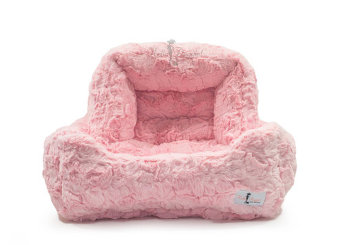 Bella Dog Bed | Baby Pink