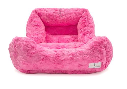 Bella Dog Bed | Fuchsia