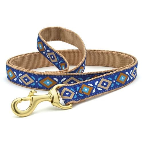 Aztec Blue Dog Leash