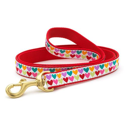 Pop Hearts Dog Leash