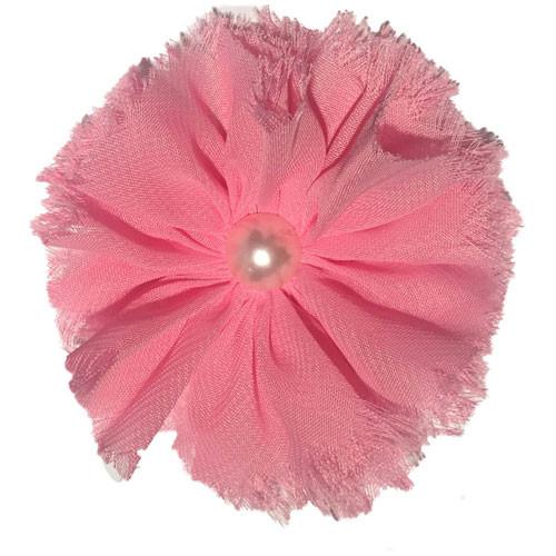 Chiffon & Pearl Collar Bud | Pink