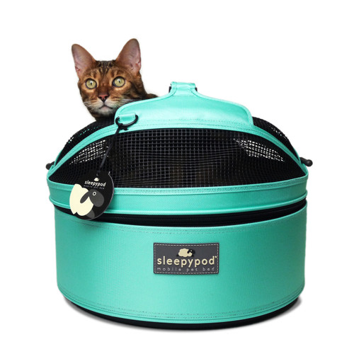 Sleepypod Mobile Pet Bed  | Robin Egg Blue | 2 Sizes