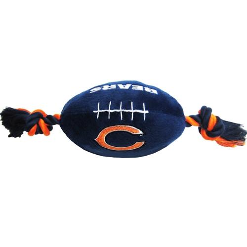 Chicago Bears Plush Dog Toy