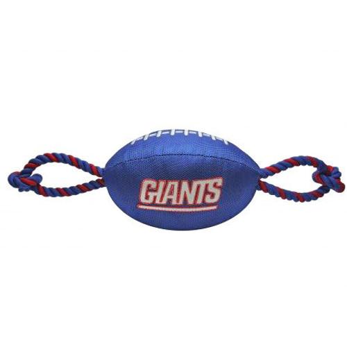 New York Giants Nylon Dog Toy
