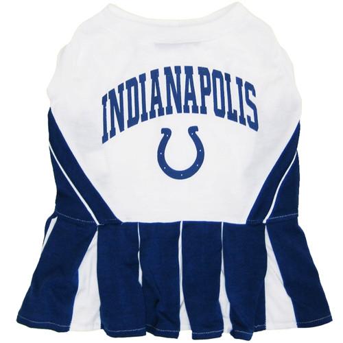 Indianapolis Colts Dog Cheerleader Dress